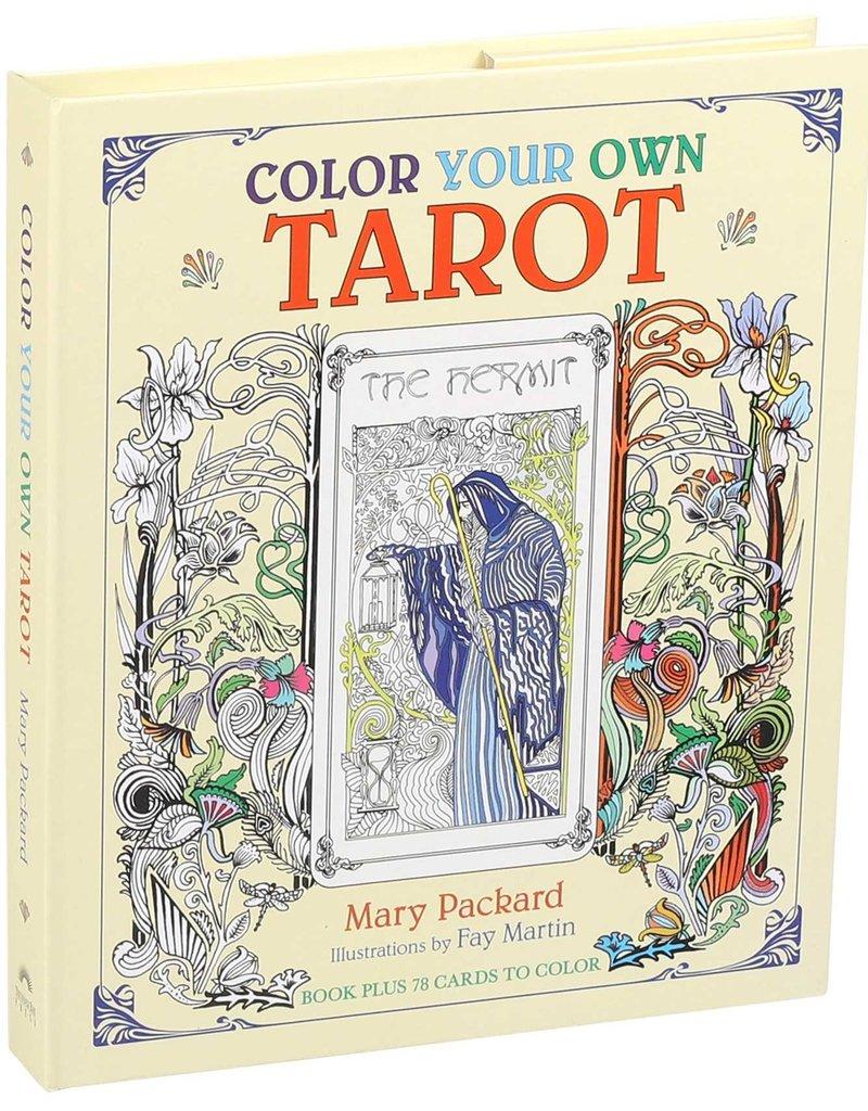 Simon & Schuster Color Your Own Tarot