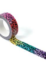 Smarty Pants Paper Washi Rainbow Leopard