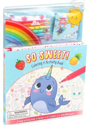 Simon & Schuster So Sweet Coloring & Activity Set
