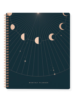 Fringe Monthly Planner Moon Phase Rays