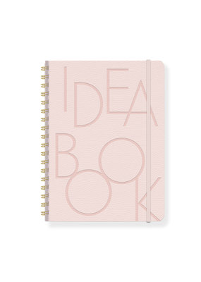 Fringe Idea Book Bold Type Blush