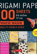 Tuttle Publishing Origami Paper Japanese Washi 200 Sheets
