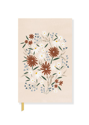Fringe Notebook Muted Daisy Floral