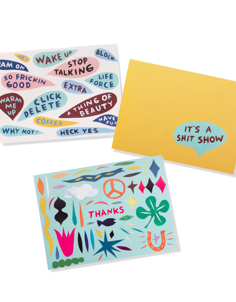 Fringe Boxed Cards Have Fun