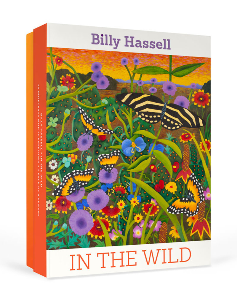 Pomegranate Boxed Cards Billy Hassell: In the Wild