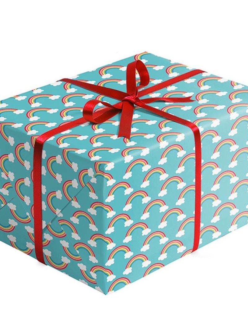 Jillson & Roberts Gift Wrap Roll Over the Rainbow
