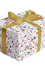 Jillson & Roberts Gift Wrap Roll Splatter