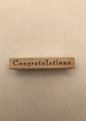 collage Stamp Congratulations 9