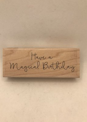 collage Stamp Have A Magical Birthday