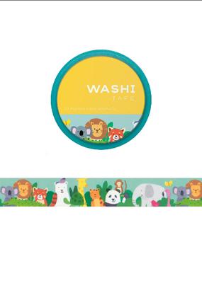 Girl of All Work Washi Zoo Animals
