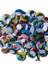 Creativity Street Googly Eyes Peel & Stick Painted Assorted Sizes 100 Pack