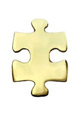 Enamel Pin Puzzle Piece