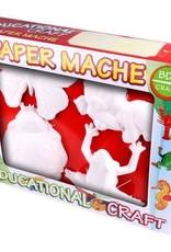 BDC Craft Paper Mache Paint Kit 4 Piece Set Terrestrial