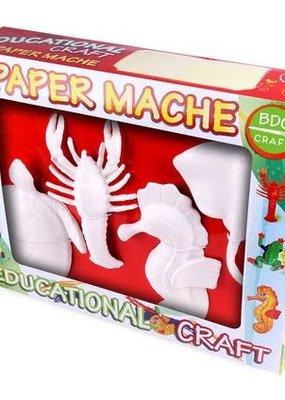 BDC Craft Paper Mache Paint Kit 4 Piece Set Marine