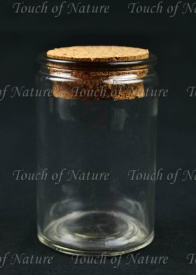 Touch of Nature Mini Glass Cylinder Bottle 2.75 Inch