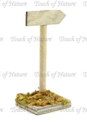 Touch of Nature Miniature Garden Wooden Sign