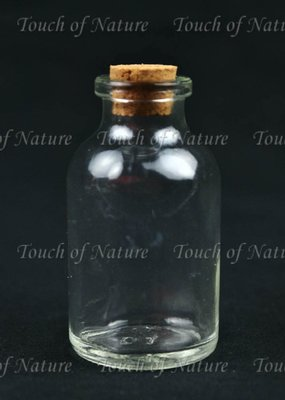 Touch of Nature Mini Glass Bottle 2.5 Inch