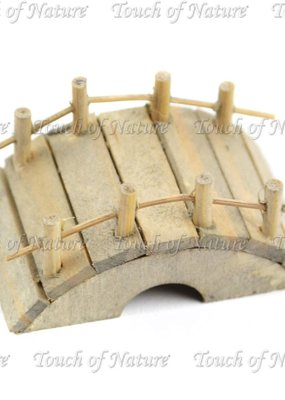 Touch of Nature Miniature Wooden Bridge 2 Inch