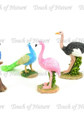 Touch of Nature Miniature Resin Birds