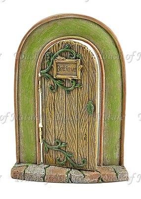 Touch of Nature Believe Miniature Door 7 Inch