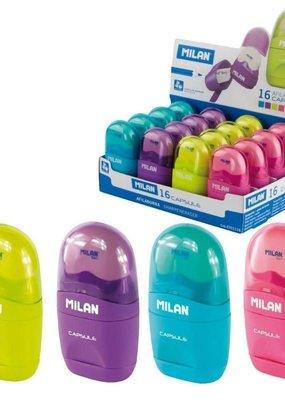 Milan Milan Capsule Single Hole Sharpener with Eraser