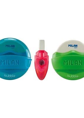 Milan Milan Bubble Single Hole Sharpener with Eraser