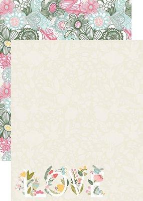 Reminisce 12 x 12 Decorative Paper Happy