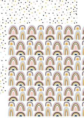 Reminisce 12 x 12 Decorative Paper Be Someone's Rainbow