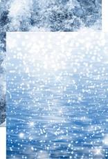 Reminisce 12 x 12 Decorative Paper Sparkling Sea