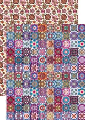 Reminisce 12 x 12 Decorative Paper Breathe