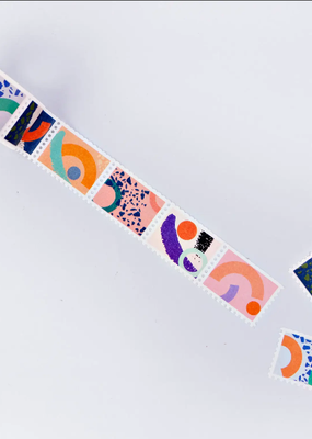 The Completist Washi Memphis Brush Stamp