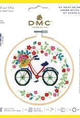 DMC Counted Cross Stitch Kit Bicycle