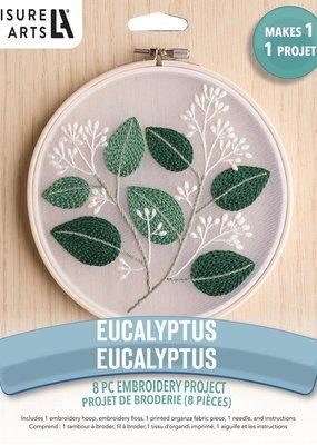 Leisure Arts Embroidery Kit Eucalyptus