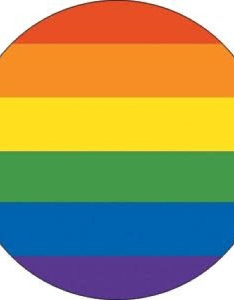 C & D Visionary Button Pride Stripe 1.5 Inch