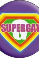 C & D Visionary Button Supergay 1.5 Inch