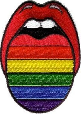 C & D Visionary Patch Rainbow Tongue