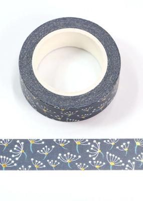 collage Washi Gold Foil Dandelion