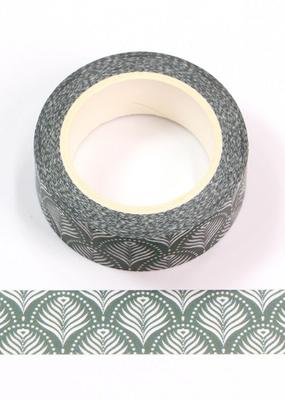 collage Washi Fan Pattern