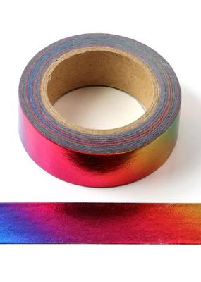 collage Washi Rainbow Foil