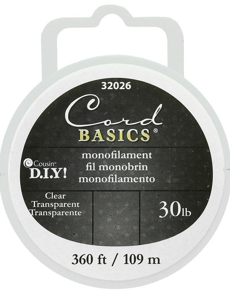 Cousin Clear Monofilament 30lb