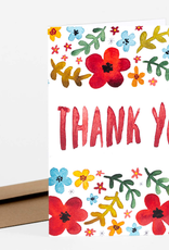 Little Truths Studio Card Watercolor Thank You