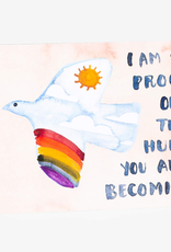 Little Truths Studio Card The Human Being You are Becoming