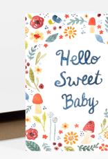 Little Truths Studio Card Hello Sweet Baby