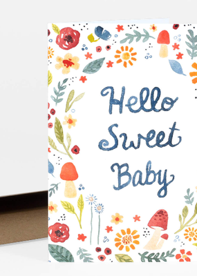 Little Truths Studio Card Hello Sweet Baby