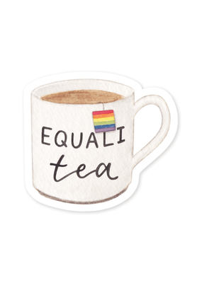 Amy Zhang Sticker Equali-Tea