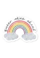 Amy Zhang Sticker Queer Skies Pride