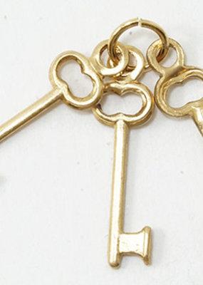 Handley House Mini Keys on Keyring