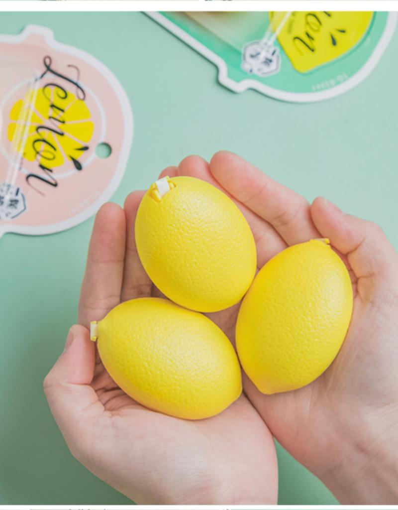 collage Correction Tape Lemon