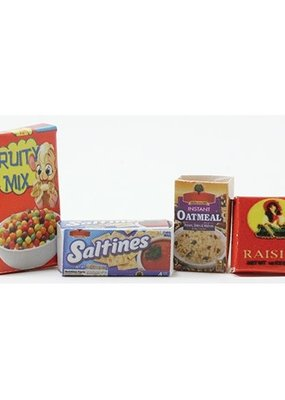 Handley House Mini Assorted Food Boxes Set of 4
