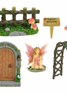 Touch of Nature Miniature Fairy Garden Kit